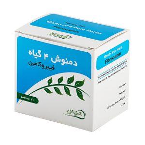 داروی گیاهی رفع یبوست [دمنوش 4 گیاه فیبروکامین_60گرم] | مرس