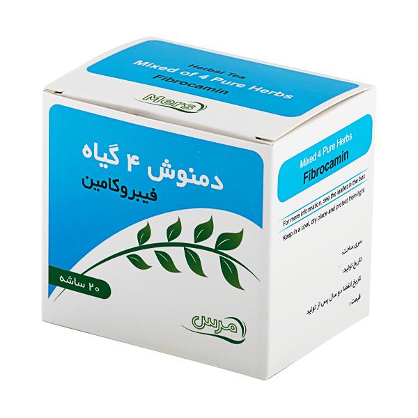 یبوست [دمنوش 4 گیاه فیبروکامین] 60گرم