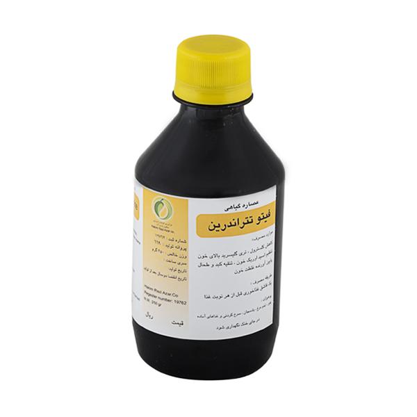 کاهش کلسترول [عصاره گیاهی فیتوتتراندرین] 250میل