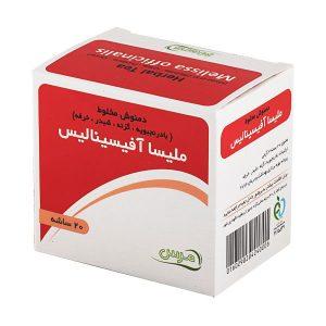دمنوش گیاهی درمان کم خونی ملیسا آفیسینالیس_60گرم | merspharma