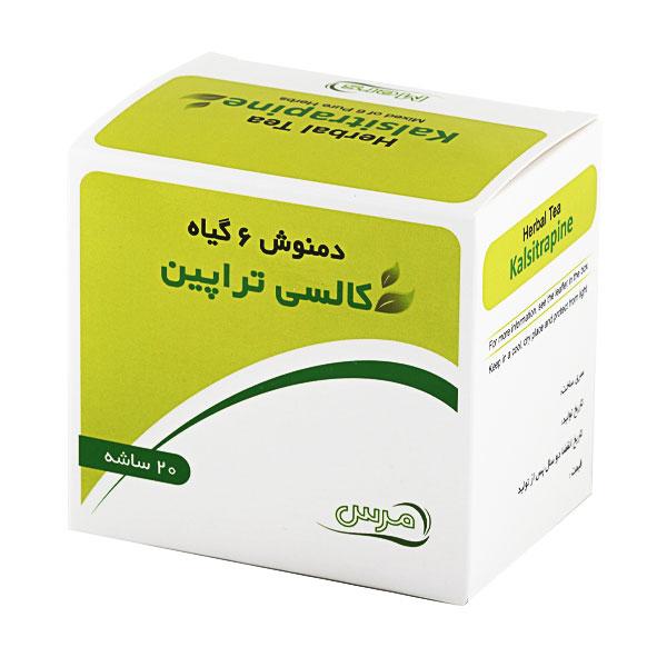 درمان کیست تخمدان [دمنوش 6 گیاه کالسی تراپین_60گرم]